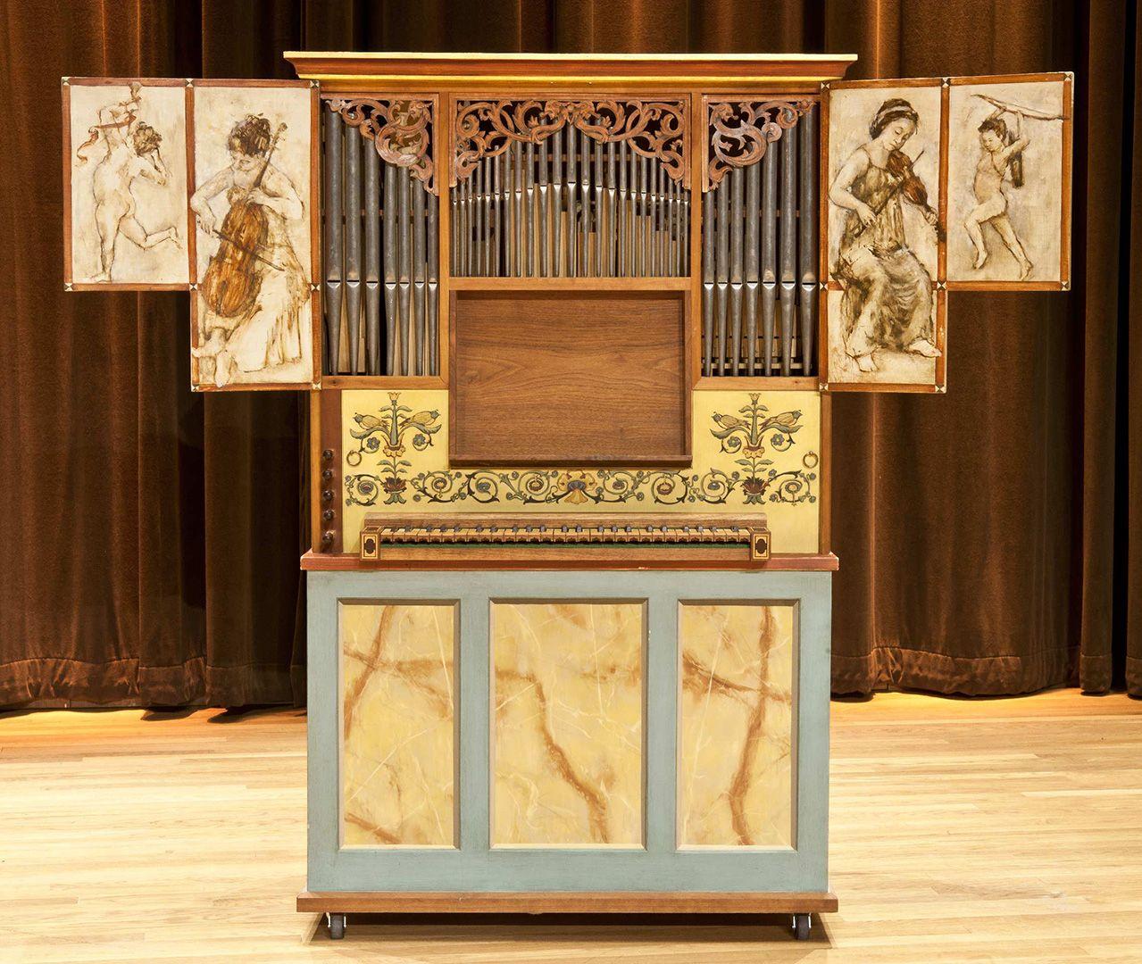 Petit orgue de chambre de la collection de la salle Bourgie
