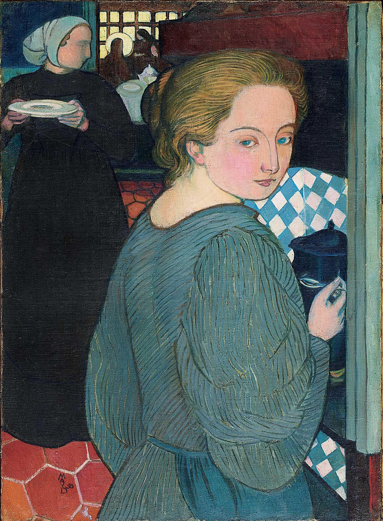 Maurice Denis (1870-1943), La Cuisinière, 1893. Collection particulière