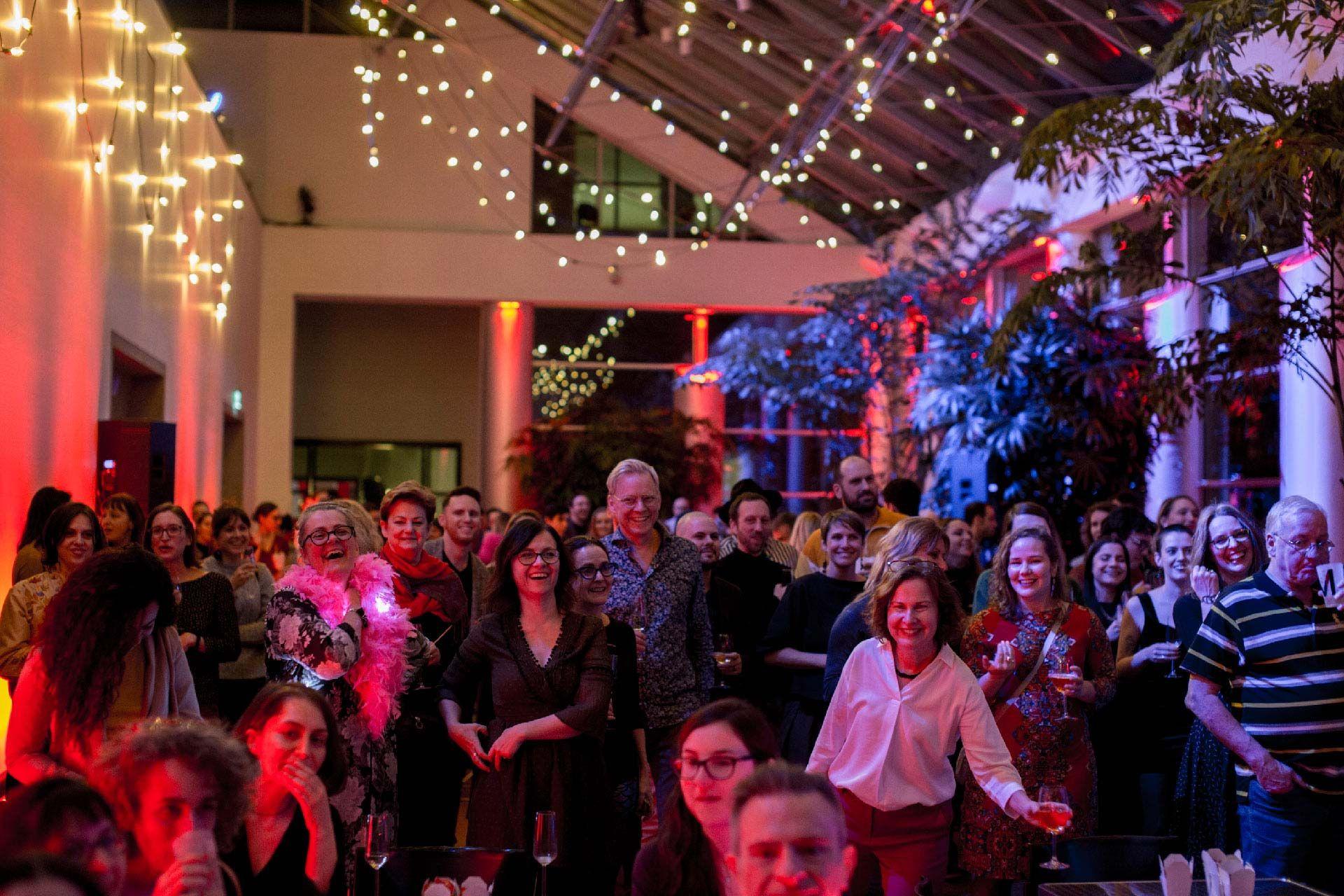 Party de Noël des employés