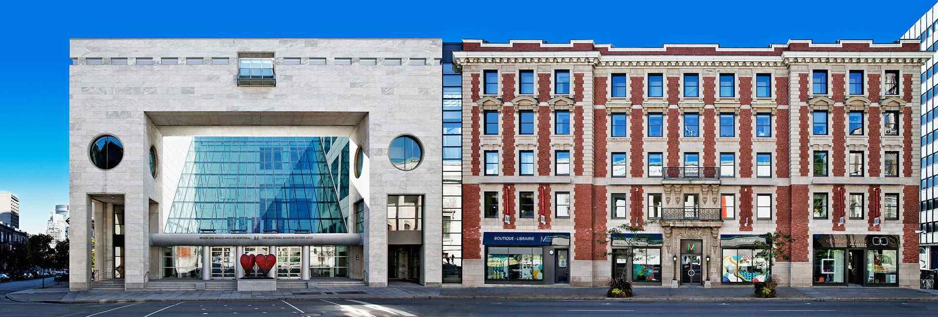 Pavillon Jean-Noël Desmarais, Musée des beaux-arts de Montréal. Photo : Bernard Fougères et Jean-François Lejeune.