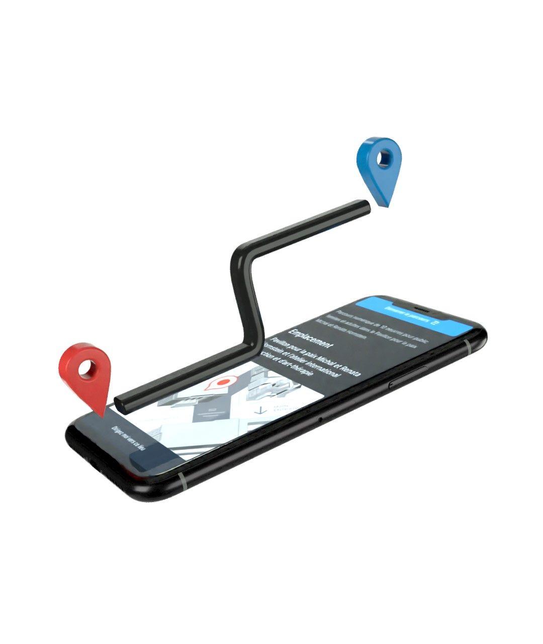 Application mobile - Navigation program