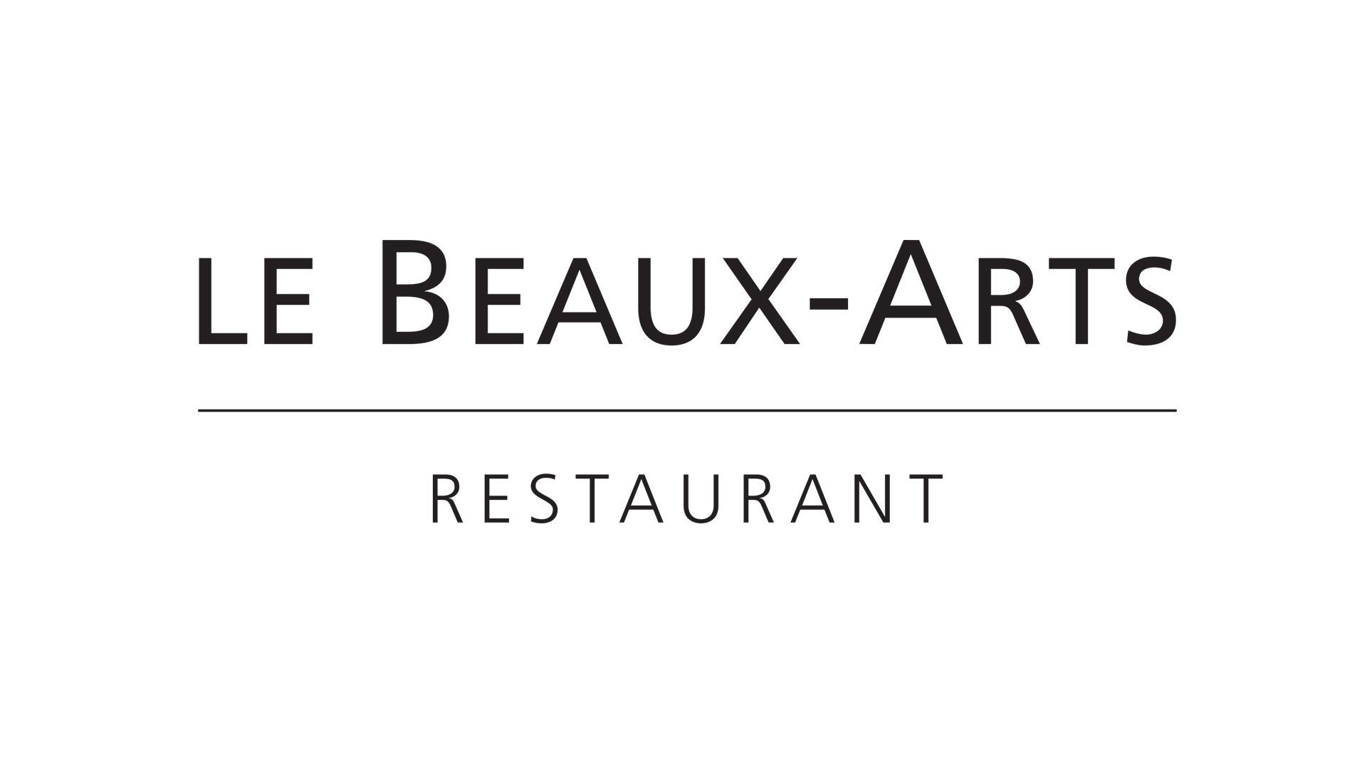 Le Beaux-Arts Restaurant