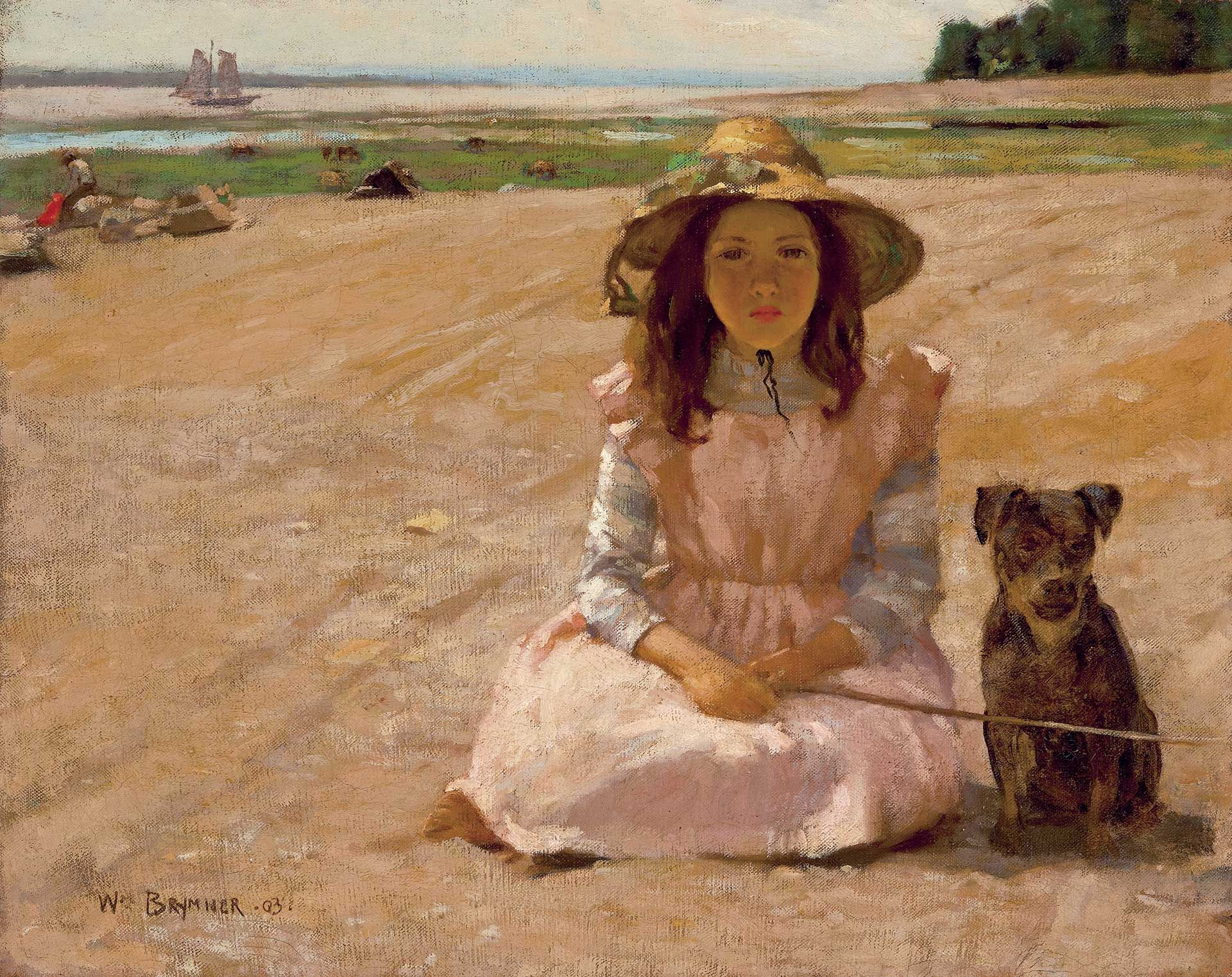 William Brymner, Girl with a Dog