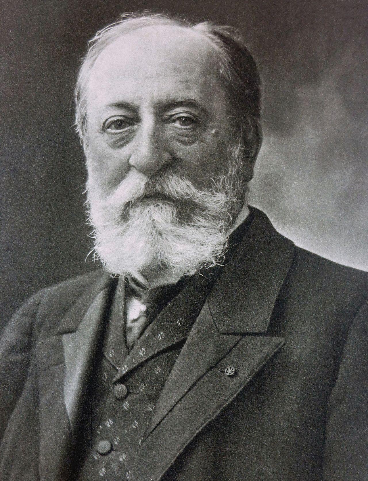Photo du compositeur Camille Saint-Saëns