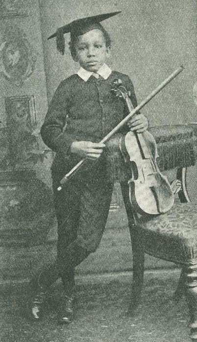 Samuel Coleridge-Taylor - enfant